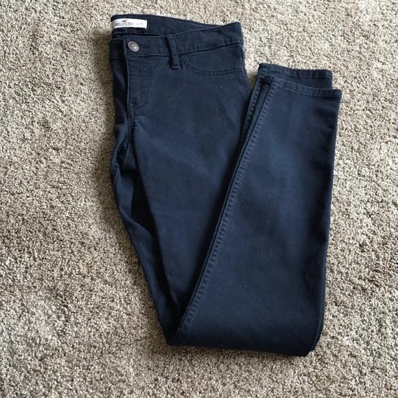 Hollister Denim - Hollister Navy Skinny Jeans